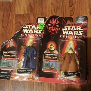 Hasbro Other - Star Wars Episode 1 action figures